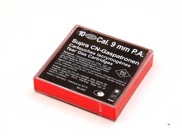 NÁBOJKA/WD 9mm PA SUPRA CN (černá) (10 ks)