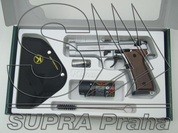 PLYNOVKA KIMAR 92 AUTO SATEN 9mm PA OBRANNÝ SET (BERETTA 92)