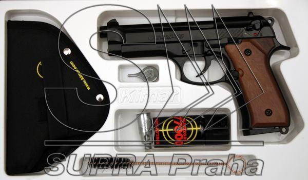 PLYNOVKA KIMAR 92 AUTO ČERNÁ 9mm PA OBRANNÝ SET (BERETTA 92)
