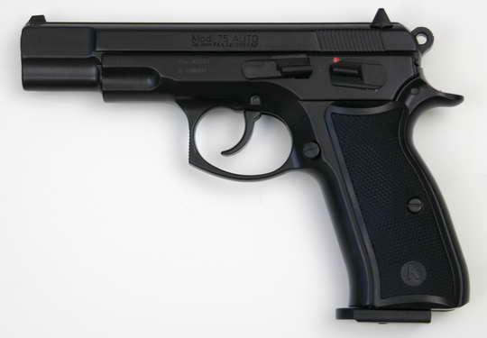 PLYNOVKA KIMAR CZ-75 ČERNÁ 9mm PA