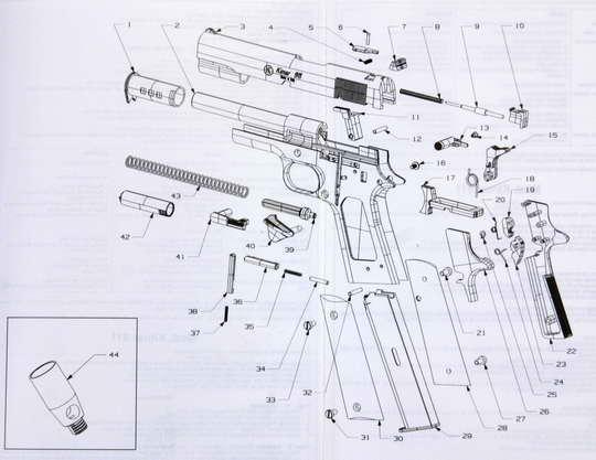 17bf2a8d115 SUPRA Praha - lovecké potřeby - PLYNOVKA KIMAR 911 STEEL 9mmPA (COLT ...