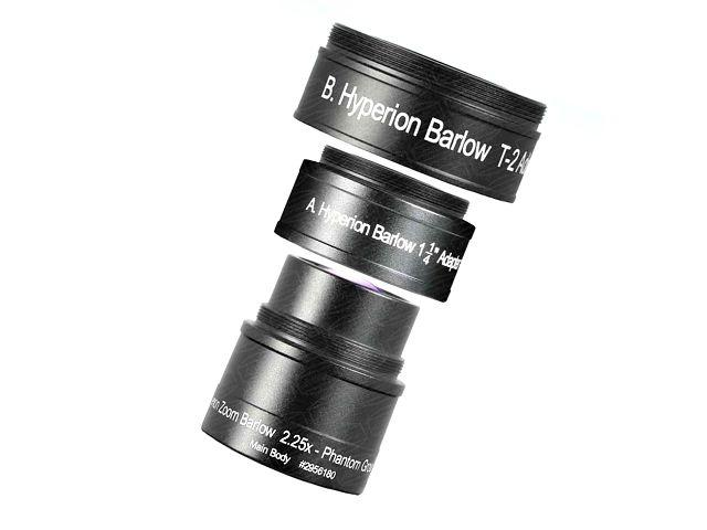 "BARLOW BAADER 2956180 HYPERION 2.25x 1.25""/T2"