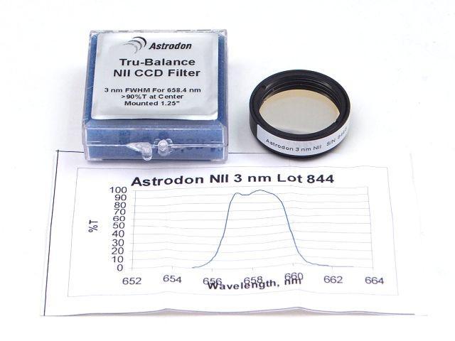"FILTR Astrodon N II CCD 3nm 1.25"""
