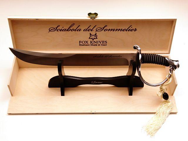 NŮŽ FOX 2006 SOMMELIER.ŠAVLE 53cm CHROM