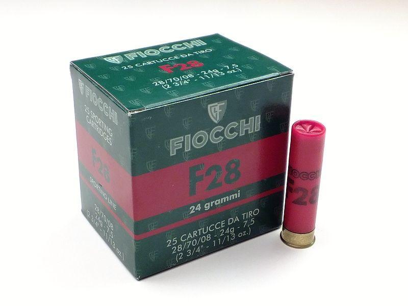 NÁBOJ FIOCCHI F28 TRAP 28/70/08 2.40mm 24g