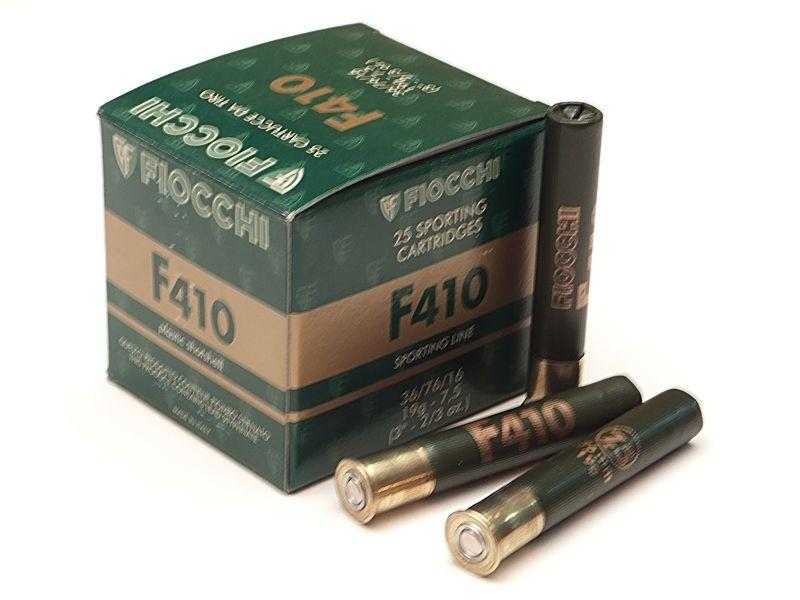 NÁBOJ FIOCCHI F410 TRAP 36/76/16 2.40mm 19g