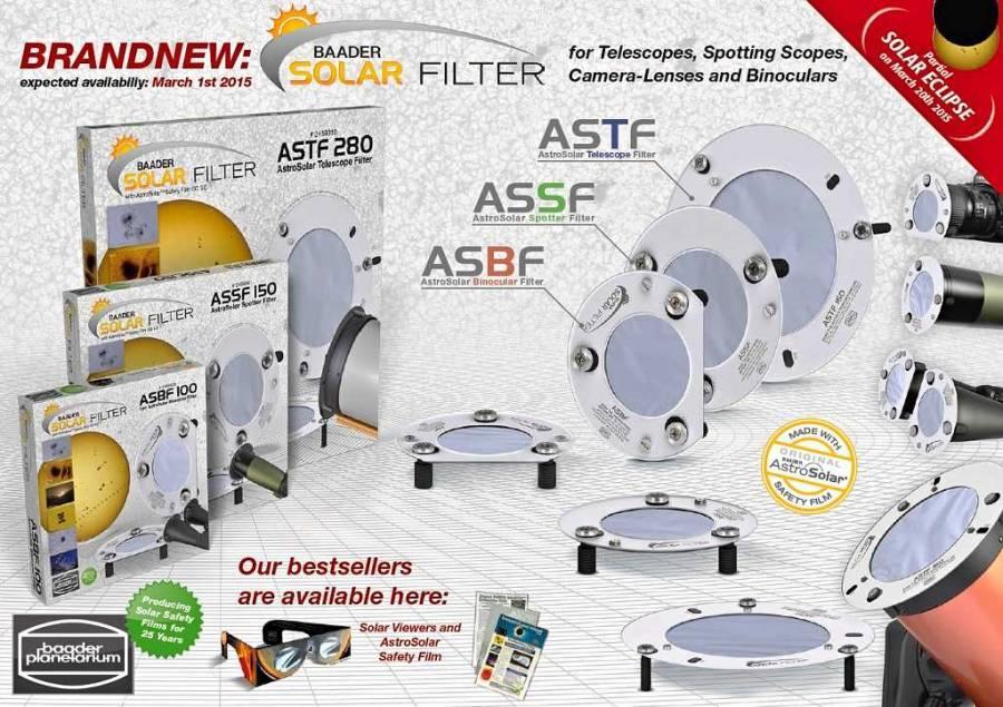FILTR BAADER 2459338 ASSF-100 SLUNEČNÍ pro 90-110mm