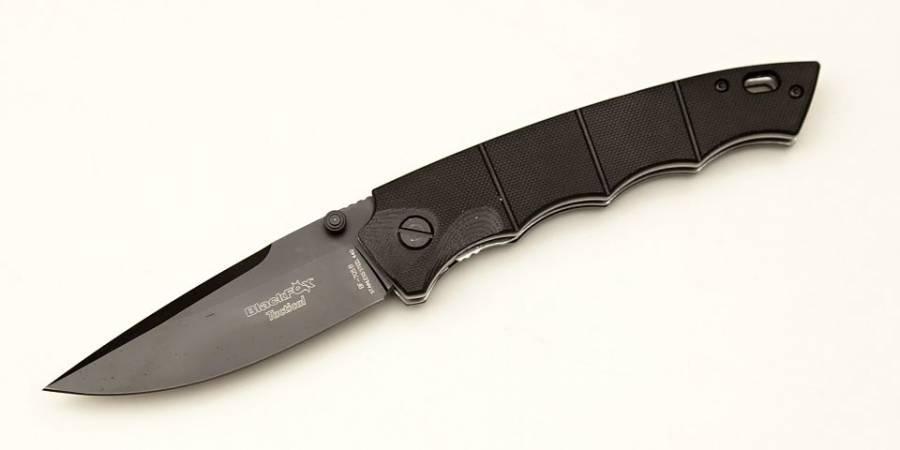 NŮŽ FOX BLACK BF-705B SAI TACTICAL G10 ČERNÝ