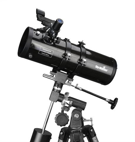"""Dalekohled SKY-WATCHER NEWTON 4.5"""" 114/500mm EQ-1M + HOD.STROJ - PRODEJ UKONČEN"""