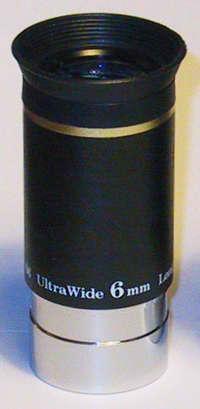 """OKULÁR SKY-WATCHER ULTRA WIDE 6mm 1.25"""" 66° - PRODEJ UKONČEN"""