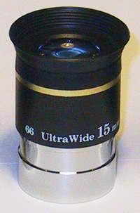 """OKULÁR SKY-WATCHER ULTRA WIDE 15mm 1.25"""" 66° - PRODEJ UKONČEN"""