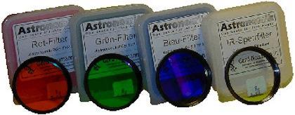 "FILTR ASTRONOMIK 1.25"" sada RGB+L typ II"