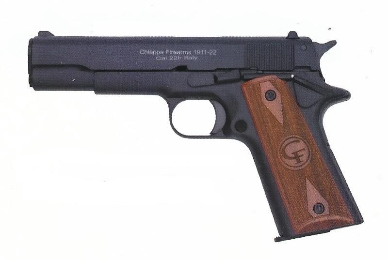 PISTOLE CHIAPPA 1911-22 STANDARD DŘEVO