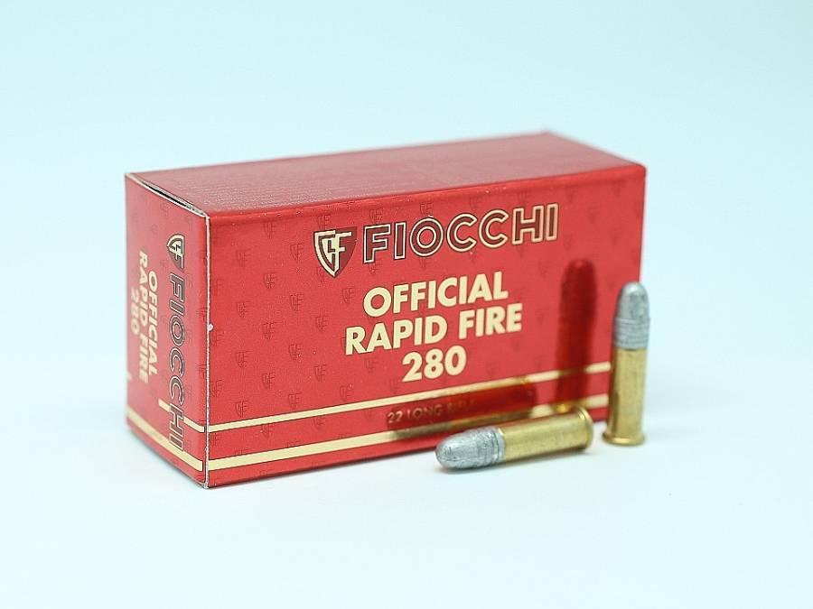 NÁBOJ FIOCCHI 22 LR OFFICIAL 280 RAPID FIRE