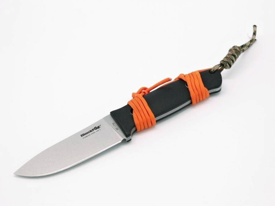 NŮŽ FOX BLACK BF-710 VESUVIUS MIKARTA (FN17)