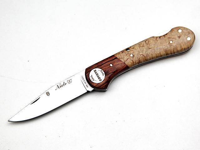 NŮŽ MIGUEL NIETO 046 COYOTE BŘÍZA 8cm (NN11)