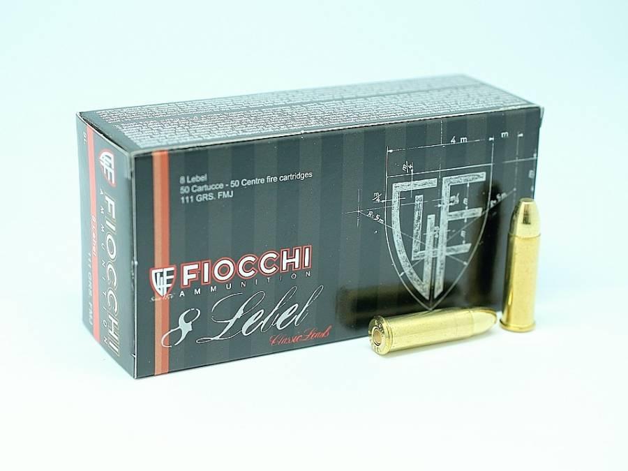 NÁBOJ FIOCCHI 8mm LEBEL FMJ 111grs