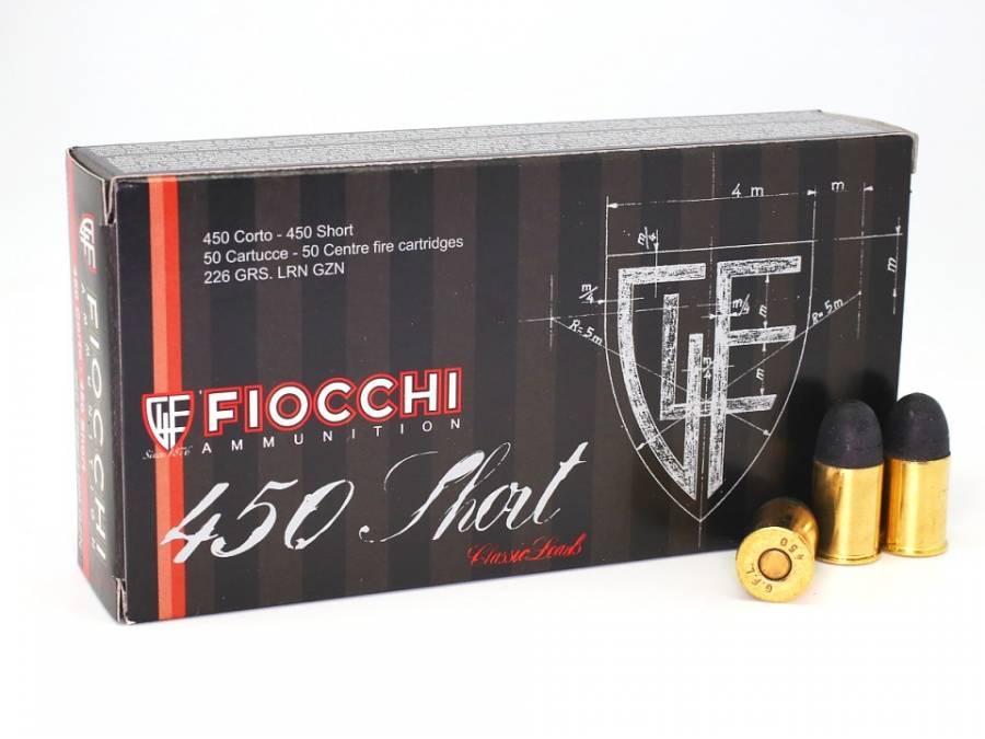 NÁBOJ FIOCCHI 450 SHORT LRN TFL 14.65g/226grs.