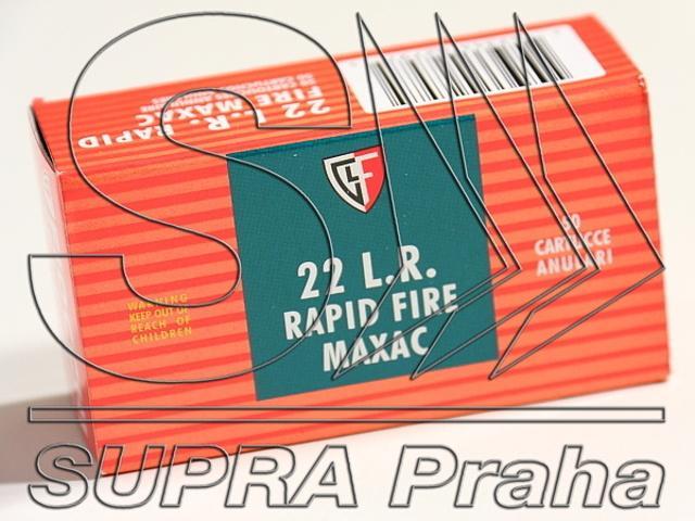 NÁBOJ FIOCCHI 22 LR MAXAC SOFT LRN 40 grs.