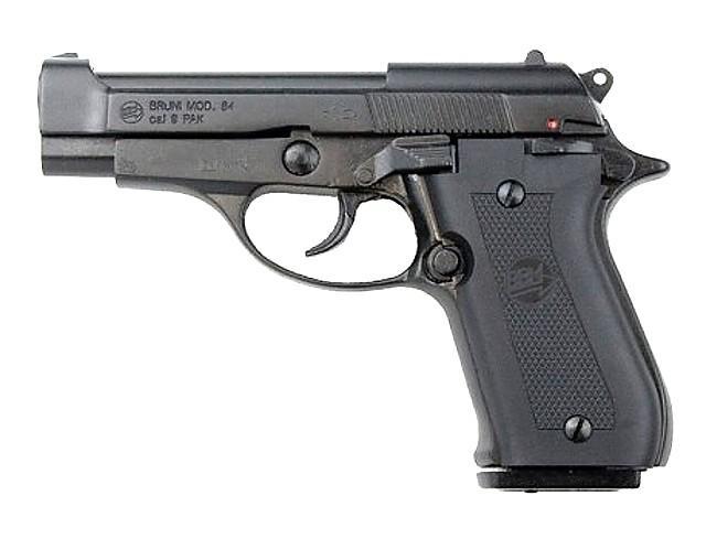 PLYNOVKA BRUNI Mod. 84 ČERNÁ 9mm PA (dvouřadý zás.)