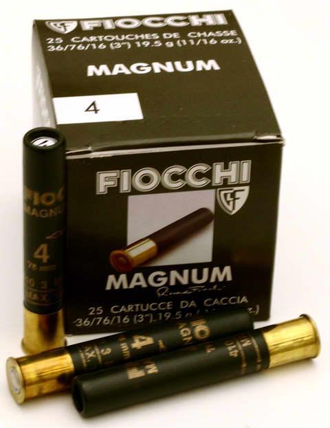 NÁBOJ FIOCCHI 36/76/16 MAGNUM 3.10mm #4