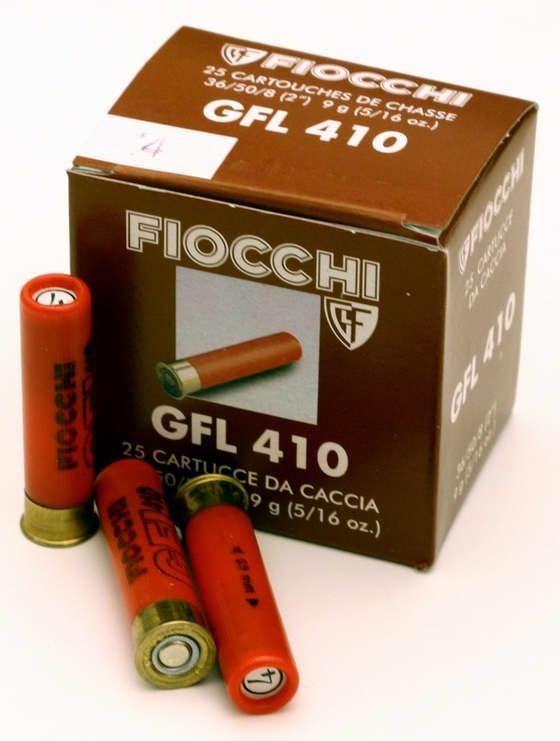 NÁBOJ FIOCCHI 410/50/08 GFL 3.10mm 9g #4 - PRODEJ UKONČEN