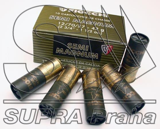 NÁBOJ FIOCCHI 12/70/27/3.10mm SEMI MAG 42g #4
