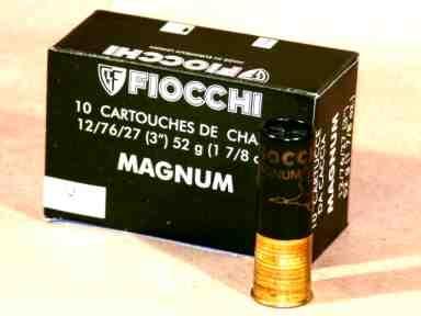NÁBOJ FIOCCHI 12/76/27/3.90mm MAGNUM 52g #0