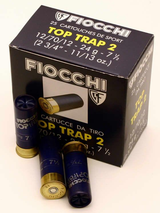 NÁBOJ FIOCCHI 12/70/12/2,40mm TOP TRAP II 24g