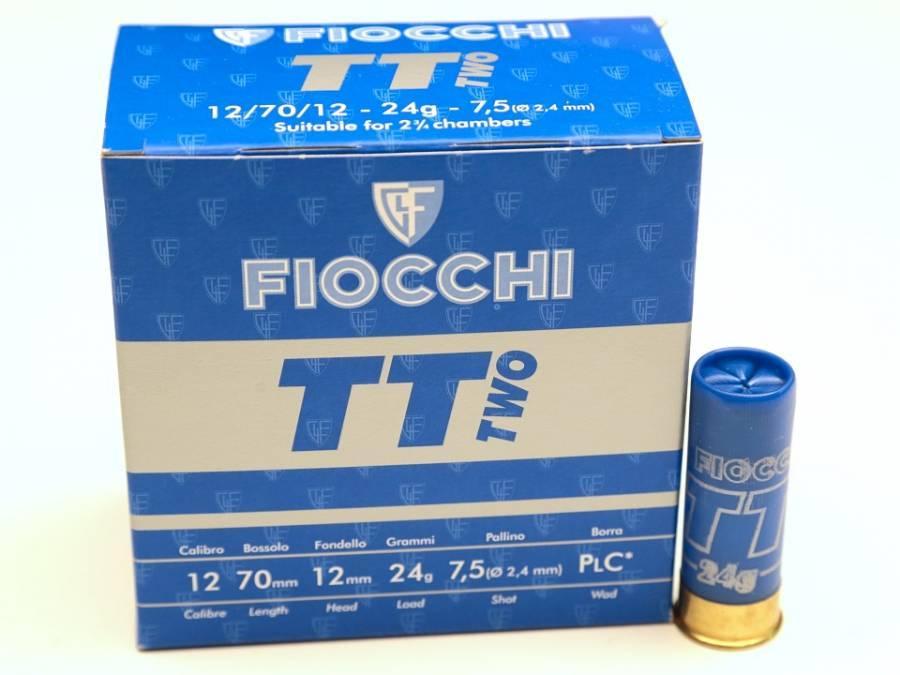 NÁBOJ FIOCCHI TT TWO TRAP 12/70/12 2.40mm 24g