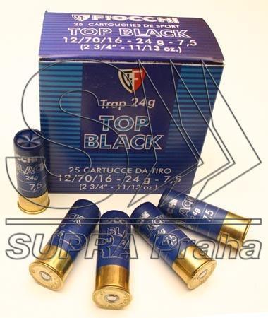 NÁBOJ FIOCCHI 12/70/16 TRAP FBLACK 28g  2.40mm