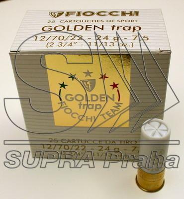 NÁBOJ FIOCCHI 12/70/22 GOLD (TRAP) 24g