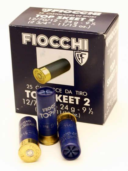 NÁBOJ FIOCCHI TT TWO SKEET 12/70/12 2.00mm 24g