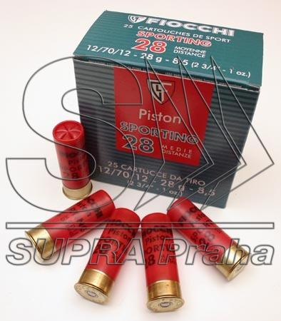 NÁBOJ/FIO 12/70/12 SPORT PISTON MD 2.20mm 28g #8.5 PARKUR