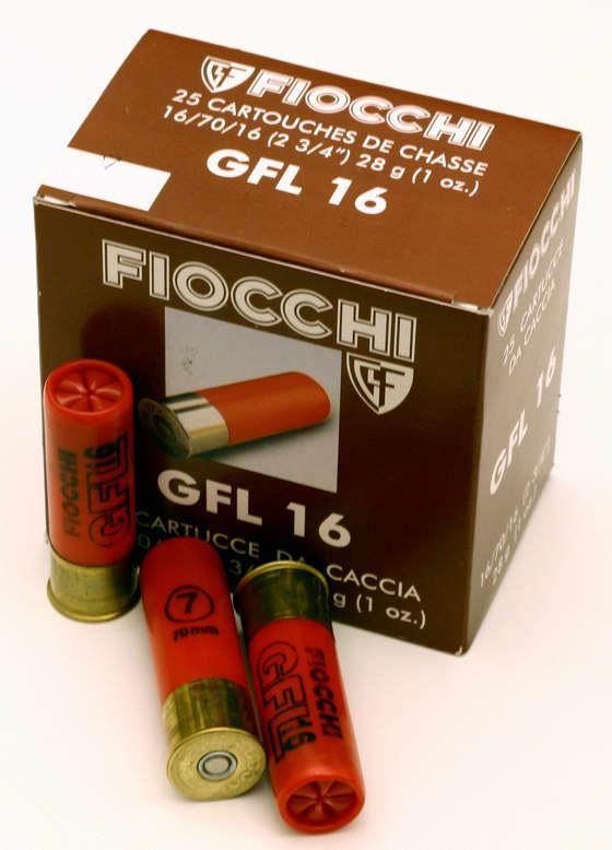 NÁBOJ FIOCCHI 16/70/16 PL 2.50mm 28g #7