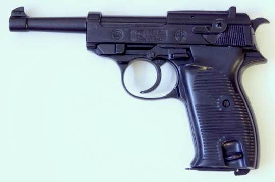 PLYNOVKA BRUNI Mod. 38-P ČERNÁ 8mm