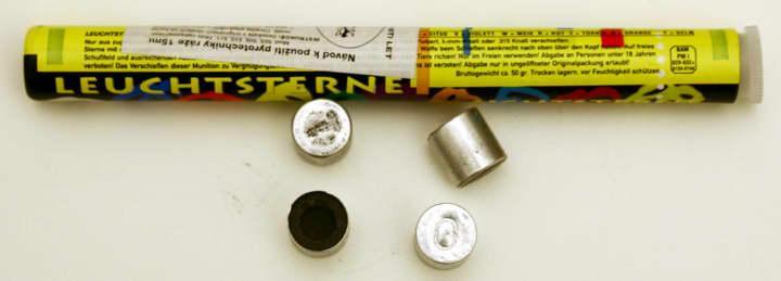 SVĚTLICE/ZINK 509 HVĚZDA 10 BAREV 15mm (10 ks)