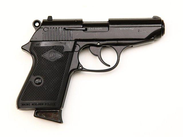 PLYNOVKA BRUNI Mod. NEW POLICE Čer 9mm PA