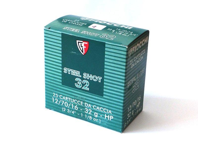 NÁBOJ/FIO 12/70/16 3.10mm STEEL SHOT 32g #4 - PRODEJ POZASTAVEN