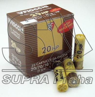 NÁBOJ FIOCCHI 20/70/16 HP 30g 3.90mm #0