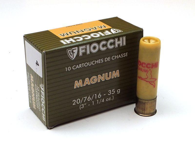 NÁBOJ FIOCCHI 20/76/16/3.10mm MAGNUM 35g #4