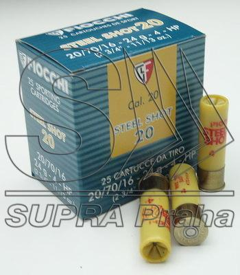 NÁBOJ/FIO 20/70/16 2.90mm STEEL SHOT 24g #5