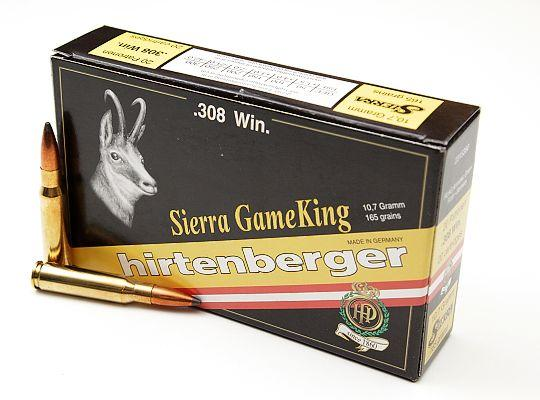 NÁBOJ HIRTENBERGER 308 Win SIerra Game King 10.7g