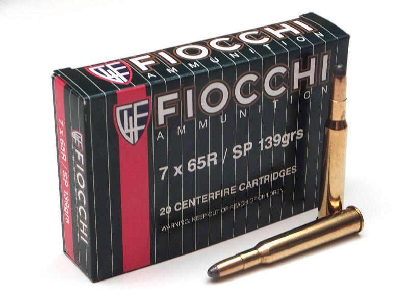 NÁBOJ FIOCCHI 7x65R SP 139 grs./9g.