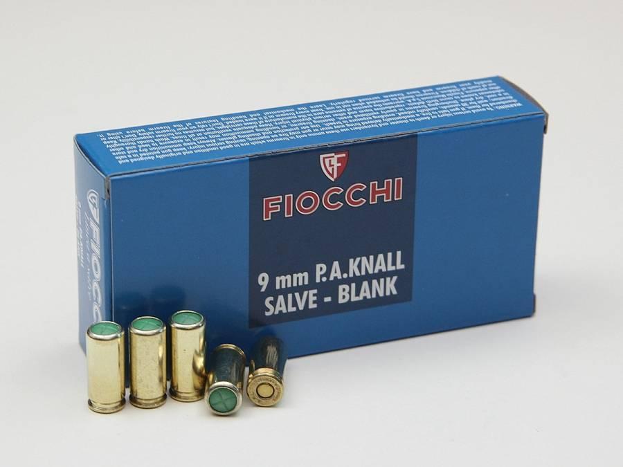 NÁBOJKA FIOCCHI 9mm PA BLANK POPLAŠNÁ (50 ks)