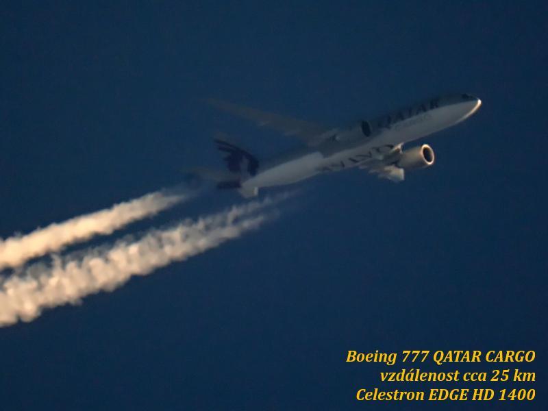 Boeing 777 Qatar Cargo