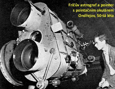 Fričův astrograf, AsÚ Ondřejov