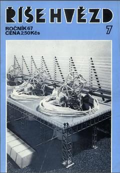 Titulní stránka Říše hvězd 07/1987