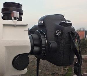 Připojení zrcadlovky k VMC-110L