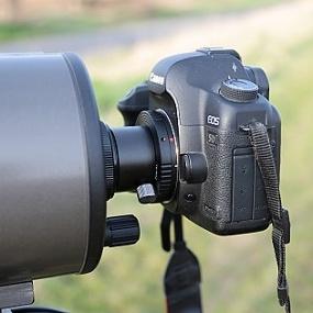 Připojení zrcadlovky k Maksutov-Cassegrainu SkyWatcher 127/1500mm